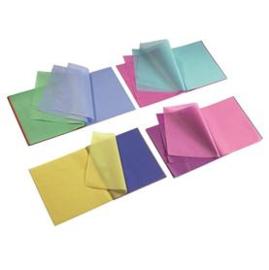 Zijdevloei mix van heldere en pastelkleuren (blok 16x16cm)