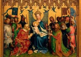 Aanbidding van de Koningen, Stefan Lochner