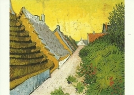 Dorpsstraat in Saintes-Maries, Vincent van Gogh
