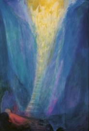 Jacob droomt van de ladder die naar de hemel leidt, Ninetta Sombart