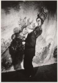 Marc Chagall voor een decor
