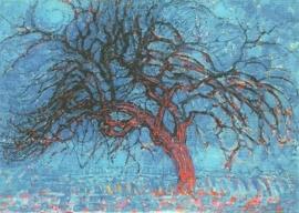 De rode boom, Piet Mondriaan