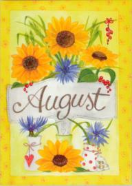 Maandkaart augustus, Inga Berkensträter