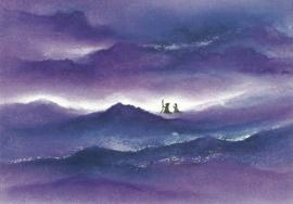 Jozef en Maria op weg, Baukje Exler