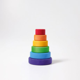 Regenboog toren klein (6-delig)