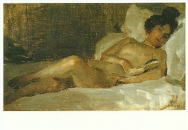 Liggend naakt, Isaac Israels