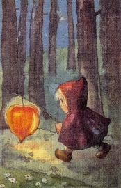Licht mij bij lantaarn, Mili Weber