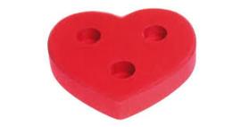 Grimm's Kaarsenhouder hartvorm