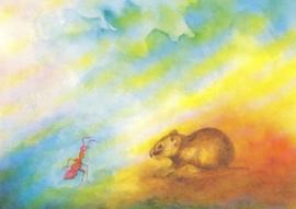 Hamster en mier, Jula Scholzen Gnad