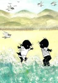 Jip en Janneke in de zee, Fiep Westendorp