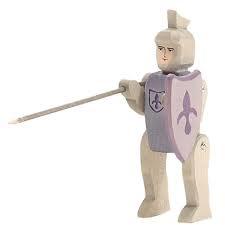 Ruiter ridder blauw
