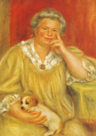 Madame Renoir met Bob, Pierre-Auguste Renoir