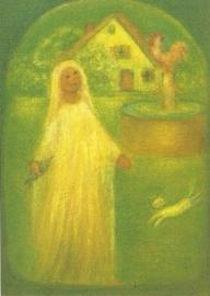 'Goudmarie' uit vrouw Holle, Ruth Elsässer