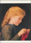 Breiend meisje, Albert Anker