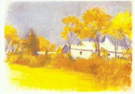 Studie voor een herfst climax, Wolf Kahn