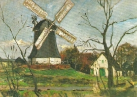 De Worpsweder molen, Bernhard Huys