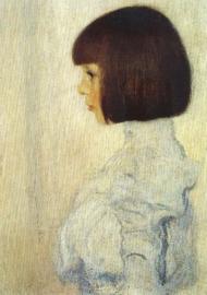 Beeltenis van Helene Klimt, Gustav Klimt