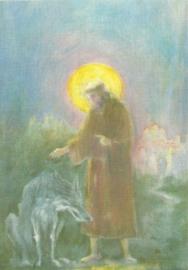 Sint Franciscus en de wolf van Gubbio, David Newbatt