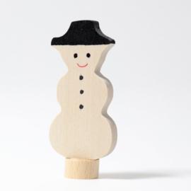 Sneeuwpop steker