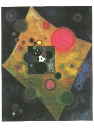 Accent in roze, Wassily Kandinsky