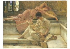 Een lievelingsdichter, Sir Lawrence Alma-Tadema