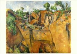 Steengroeve Bibémus, Paul Cezanne