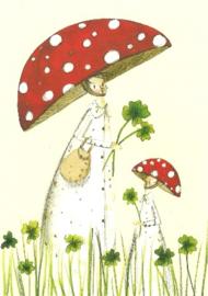Paddenstoel-hoeden, Silke Leffler