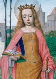 Heilige Katharina van Alexandrië, Getijdenboek Vlaanderen