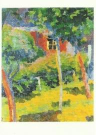 Venster in zonneschijn, Giovanni Giacometti