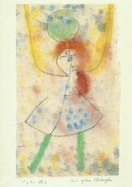 Met groene kousen, Paul Klee
