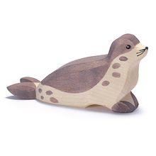 zeehond kop laag
