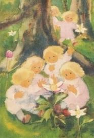 De anemonen bloeien, Mili Weber