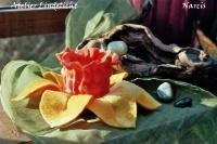 Waxine lichtje Narcis (zelfmaakpakketje)
