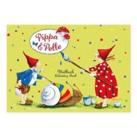 Kleurboek Pippa en Pelle A7