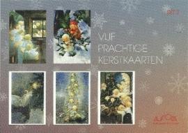 Vijf prachtige kerstkaarten, Mili Weber