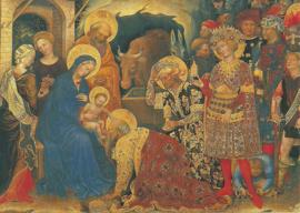 Aanbidding van de koningen, Gentile da Fabriano