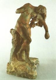 De gewonde Niobe, Camille Claudel