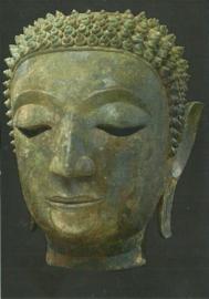 Hoofd van Boeddha Sakyamuni, Thailand