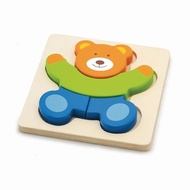 Shape block puzzle Beer ( hout, 18 mnd +)