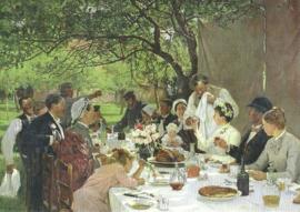 Bruiloftsmaal, Albert-Auguste Fourie