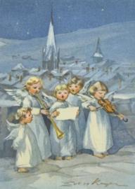 Vijf musicerende engelen, Erica von Kager