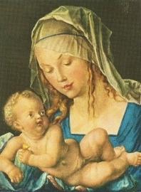Madonna met het kind, Albrecht Dürer