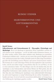 Selbsterkenntnis und Gotteserkenntnis II GA 90b / Rudofl Steiner