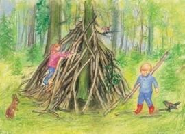 Onze hut in het bos, Marjan van Zeyl