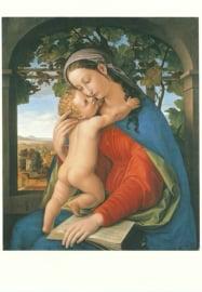 Madonna met kind 1820, Julius Schnorr von Carolsfeld