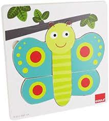 Houten puzzel Vlinder ( 2+)