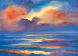 Zonsondergang, Marjan van Zeyl