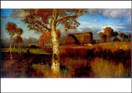 Herfst in het veen, Otto Modersohn