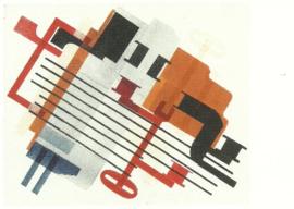 Compositie, 1925, Hendrik Nicolaas Werkman