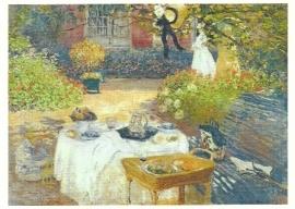 Het middageten, Claude Monet